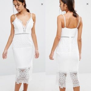 River Island Lace Body-Conscious Dress